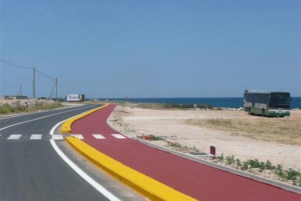 asfalto stampato pista ciclabile vernice all acqua 9